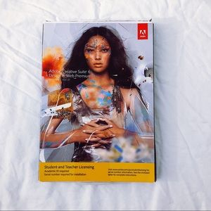 Adobe creative suite 6 for students.